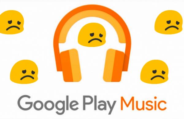 Музыкальный сервис Google Play Music окончательно закрыли