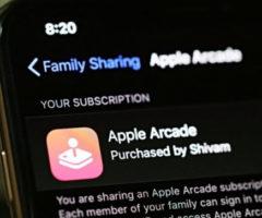 Как поделиться подпиской на iOS