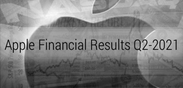 Apple сообщила результаты за второй квартал 2021 финансового года
