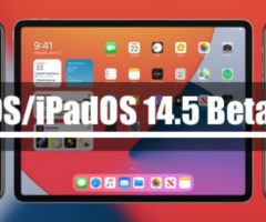 Apple выпустила iOS/iPadOS 14.5 Beta 8 для разработчиков