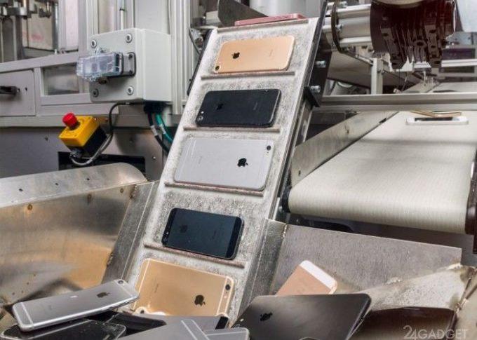 iPhone будущего будут полностью производиться из вторичных материалов