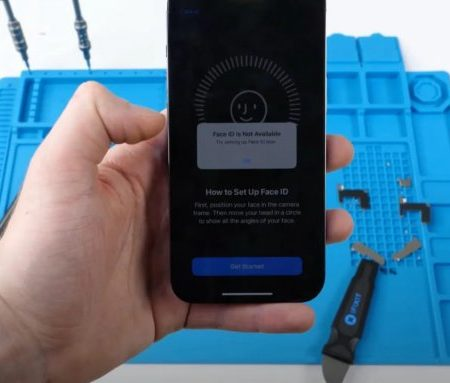 Face ID перестает работать, если заменить экран iPhone 13 в стороннем сервисе (видео)