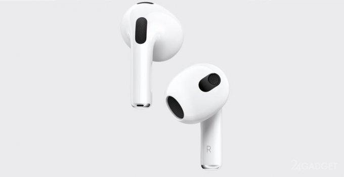 Apple представила следующее поколение наушников – AirPods 3 (3 фото)